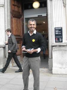 Maajid Nawaz - Liberal Democrats - Hampstead and Kilburn - General Election 2015