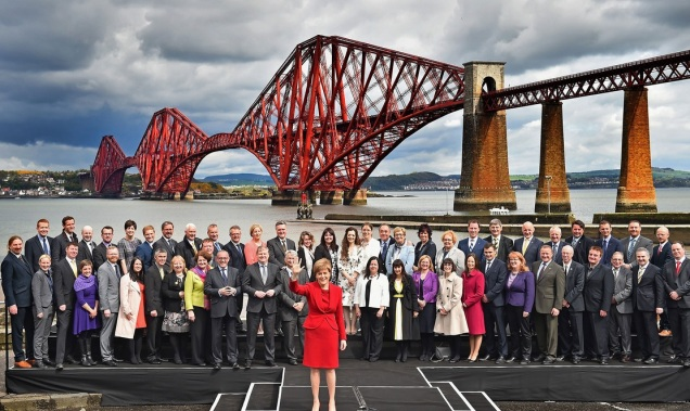 2- SNP - Scottish National Party - General Election 2015 - Tartan Tea Party - Nicola Sturgeon