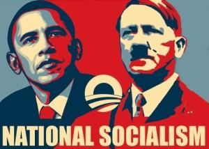 Barack Obama - Adolf Hitler