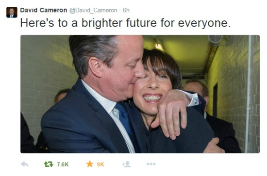 David Cameron - Conservative Party - General Election 2015 - Tories Win