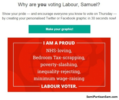 Labour Party - Why I'm Voting Labour - Virtue Signalling - General Election 2015