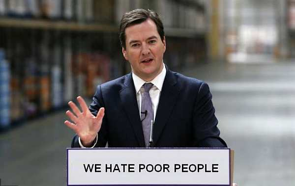 Left Wing Hyperbole Watch - George Osborne
