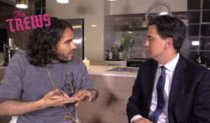 Russell Brand - Ed Miliband - General Election 2015 - Labour Party Endorsement