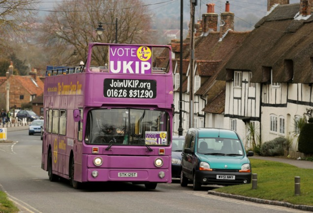 UKIP Battle Bus - General Election 2015