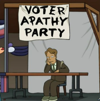 Voter Apathy - Voter Disengagement - General Election 2015