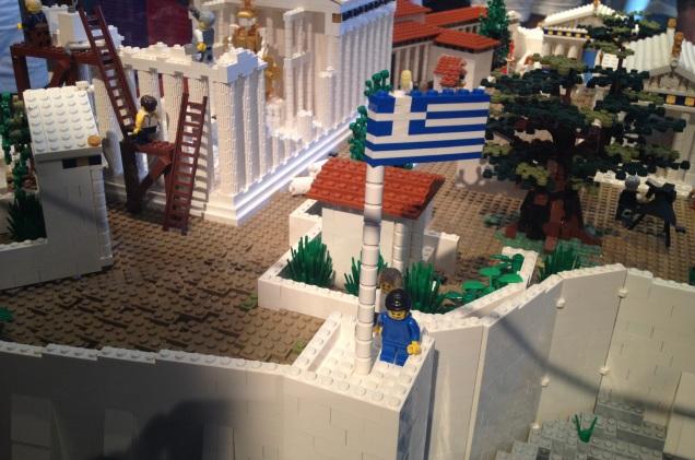 Lego Acropolis - Greece - EU - Euro Crisis - 1