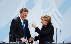 David Cameron - Angela Merkel - EU - 3