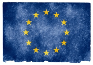 Europe - EU Flag - Brexit - Eurosceptic - Fading Flag