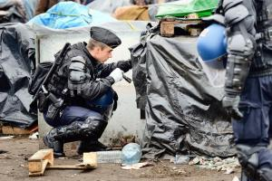 Calais - Migrant Camps - Immigration Crisis - Europe - Riot Police
