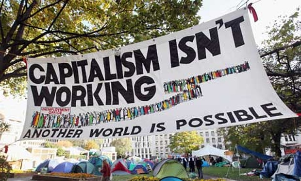 Capitalism Isn't Working Banner - Jonathan Jones - Socialism - Jeremy Corbyn