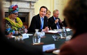 David Cameron - Camila Batmanghelidjh - Kids Company - 10 Downing Street