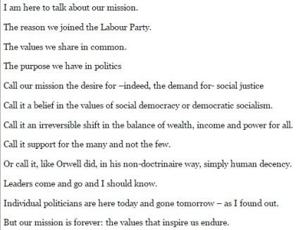 Gordon Brown Speech - Jeremy Corbyn - Labour Party - 1