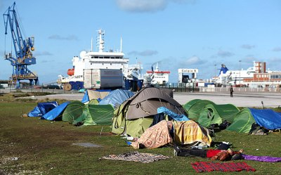 Migrant Camp - Immigration - Calais - Immigrants - Crisis