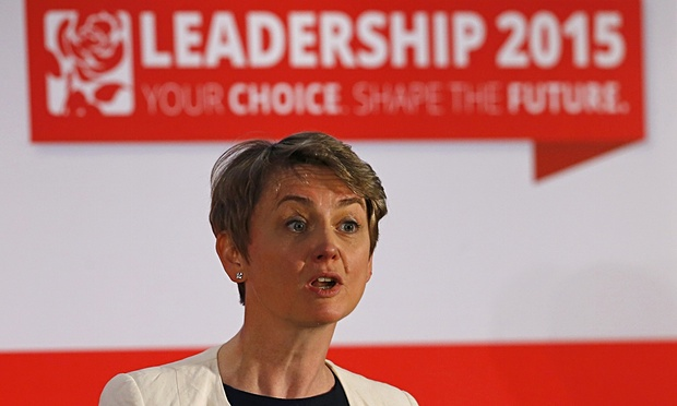 Yvette Cooper - Labour Leadership - The Guardian Endorsement - Jeremy Corbyn