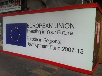 EU Propaganda - EU Regional Development Fund - EUSockPuppet