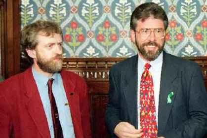 Jeremy Corbyn - Gerry Adams - Sinn Fein