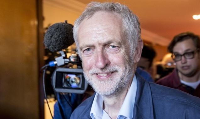 Jeremy Corbyn Q&A, Luton, Britain - 28 Jul 2015