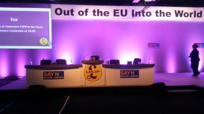 Main Stage - UKIP Conference 2015