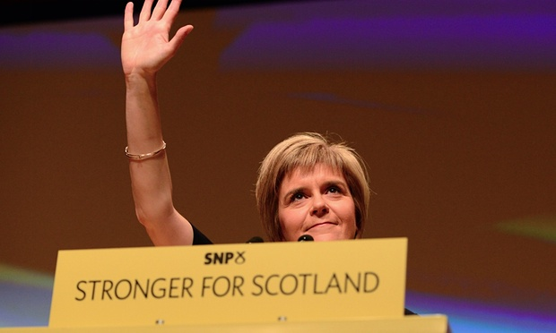 Nicola Sturgeon - SNP - Scottish Independence - IndyRef - Blackmail