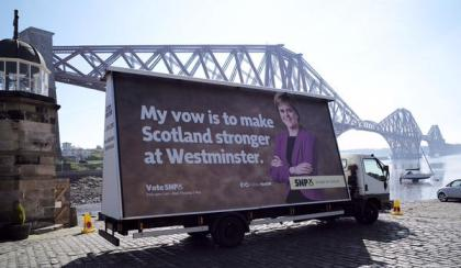 Scotland Stronger At Westminster - SNP - Nicola Sturgeon
