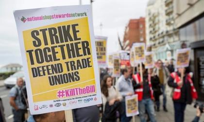 Trade Unions - Strike - Kill The Bill