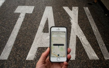 Uber Taxi Protest