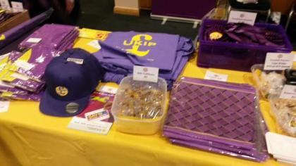 UKIP 2015 Conference Merchandise