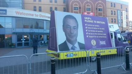 UKIP Conference Arrival