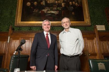 John McDonnell - Jeremy Corbyn - Labour Leadership