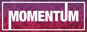 Momentum Logo - Labour Party - Jeremy Corbyn