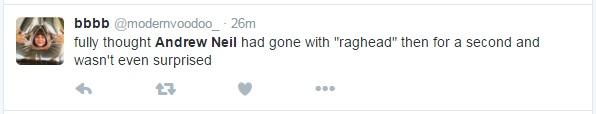 Andrew Neil - Twitter Response 3