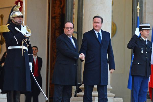 Britain - Airstrikes - ISIS - Islamic State - Syria - David Cameron - Francois Hollande