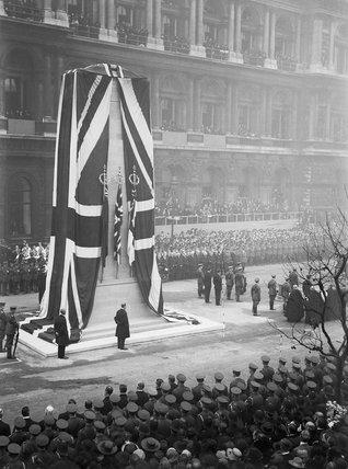 Cenotaph - Whitehall - London - 1919