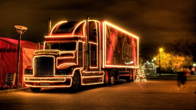 Coca Cola Christmas Truck - 2