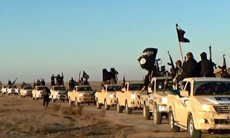 ISIS Convoy Syria
