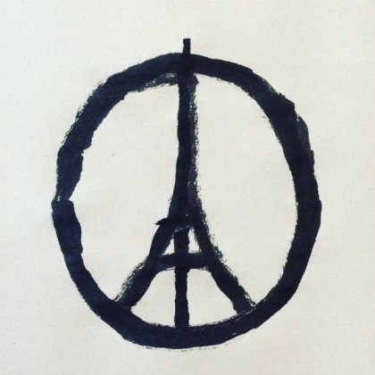 Jean Jullien - Peace for Paris - Paris Attacks