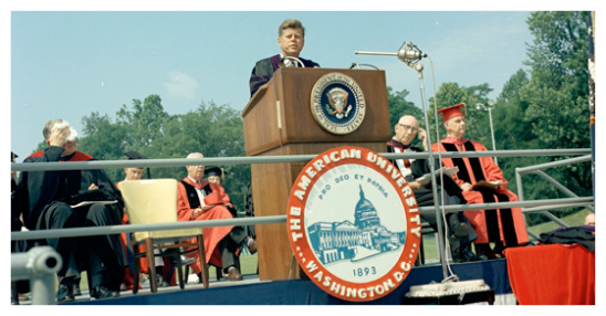 JFK - John F Kennedy - American University Commencement Address