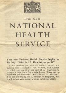 National Health Service - NHS Leaflet - 1948