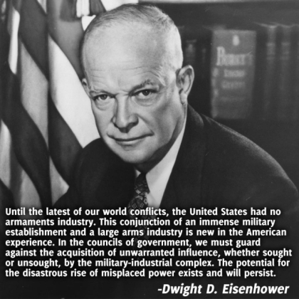 President Dwight Eisenhower - Military Industrial Complex