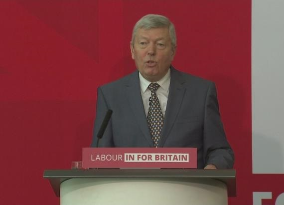 Alan Johnson - Labour - In for Britain - EU Referendum - Brexit