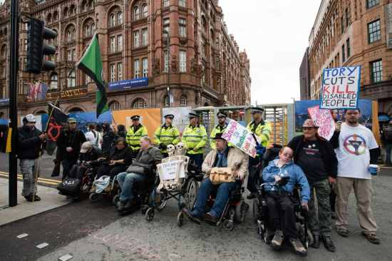 Human Rights - Disabled Protest 2