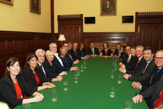 Jeremy Corbyn Shadow Cabinet 2