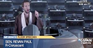 Libertarian Star Wars - Senator Revan Paul - Republican - Coruscant - 2