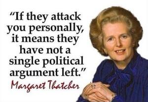 Margaret Thatcher - Internet Trolling