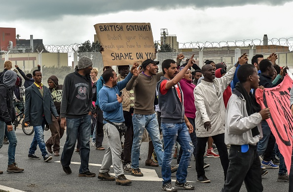 FRANCE-EUROPE-MIGRANTS-GANGS-BRITAIN-POLICE