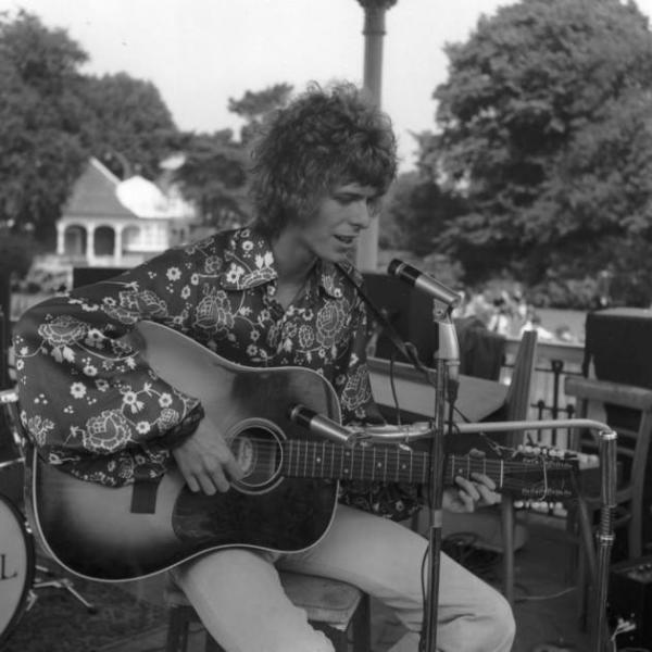 David Bowie - Beckenham Free Festival