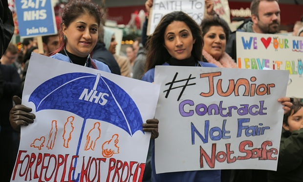 NHS Junior Doctors Contract Strike