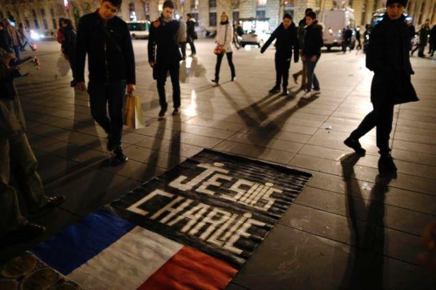 Paris - Charlie Hebdo Anniversary - Je Suis Charlie