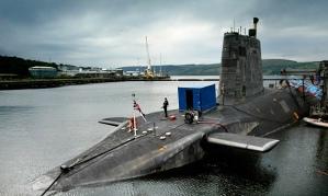 Trident Nuclear Submarine - Faslane Naval Base