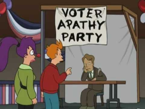 Voter Apathy Party - Futurama